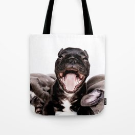 It's a Ruff life being a Puppy! Tote Bag