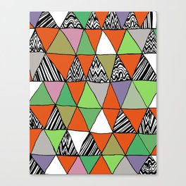 Triangle 2 Canvas Print