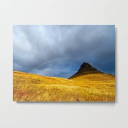 Over the Rainbow. Metal Print