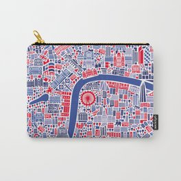 London City Map Poster Carry-All Pouch