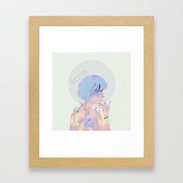 REI AYANAMI 00 Framed Art Print