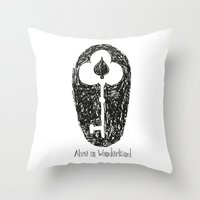 Alice II Throw Pillow