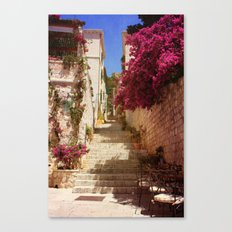 Hvar old town Canvas Print