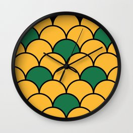Piña / Pineapple Wall Clock