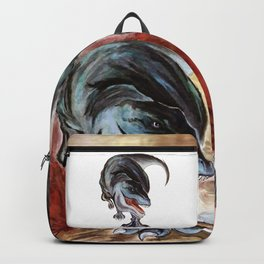 Trex - Yellowbox ink painting Backpack