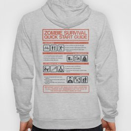 Zombie Survival Quick Start Guide Hoody