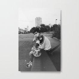 skater boy Metal Print