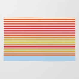 Stripe Gradient Rug