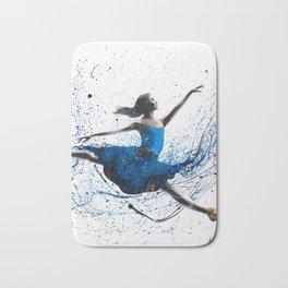 Blue Season Ballerina Bath Mat