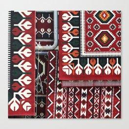 Arabic Woven Carpets Canvas Print