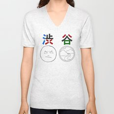 Shibuya - Bitter Valley Unisex V-Neck