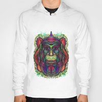 psychedelic Hoodies featuring Psychedelic by Milena Taranu