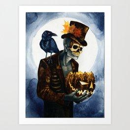 Shadow Man 4 Art Print