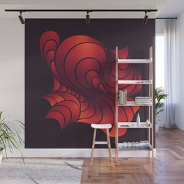 Swirl Sunset Wall Mural