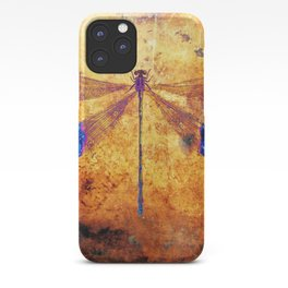 Dragonfly in Amber iPhone Case