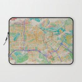 Amsterdam in Watercolor Laptop Sleeve