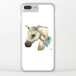 Palomino Horse - Sundance Clear iPhone Case