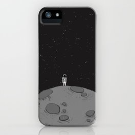 Tiny Little Spaceman iPhone Case