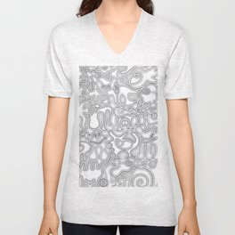 Relief of Unrest Unisex V-Neck