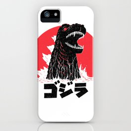 Land of the Rising Kaiju iPhone Case