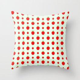 strawberries in springtime 2 Throw Pillow