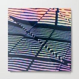 Colorful Geometric Abstract Design Metal Print