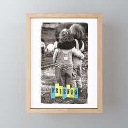 Friends Framed Mini Art Print