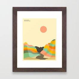 ZION NATIONAL PARK Framed Art Print