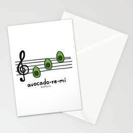 avocado-re-mi Stationery Cards