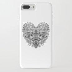 Love Fingerprint iPhone 7 Plus Slim Case