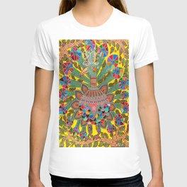 A Rainbow Peacock On A Rainy Day T-shirt