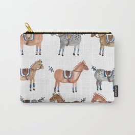 Polo Pony Parade Carry-All Pouch