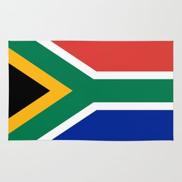 Flag of South Africa, Authentic color & scale Rug