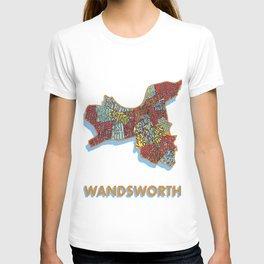 Wandsworth - London Borough - Colour T-shirt