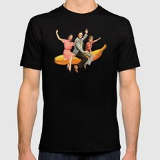 Banana Boat SMALL Black Mens Fitted Tee