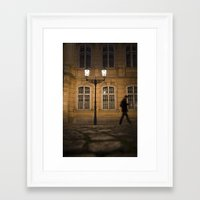 ghost Framed Art Prints featuring Ghost by Maria Heyens