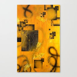 The Transmutation of Miss-Tere Canvas Print