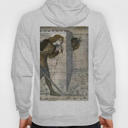 """Edward Burne-Jones """"Theseus and the Minotaur in the Labyrinth"""" Hoody"""