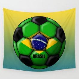 Brasil Ball Wall Tapestry