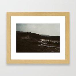 Iceland - Varúð (Leica M3 & Kodak film) Framed Art Print