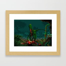The hunger for plumber Framed Art Print