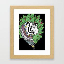 Indian Tiger Framed Art Print