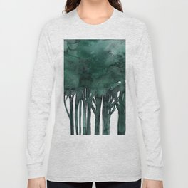 Tree Impressions No.1D by Kathy Morton Stanion Long Sleeve T-shirt