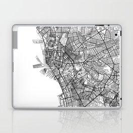 Manila Map White Laptop & iPad Skin