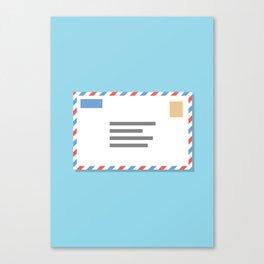 #46 Airmail Canvas Print