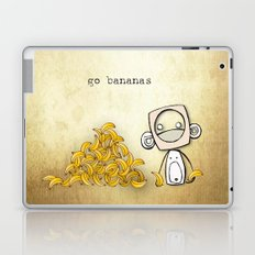 go bananas Laptop & iPad Skin