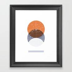 Eclipse III Framed Art Print