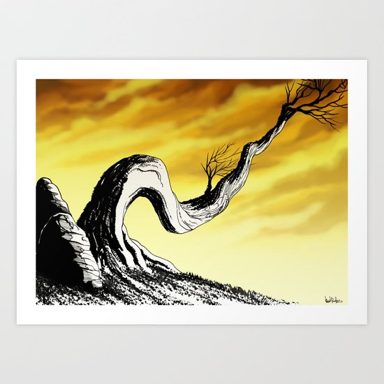 Reach for your Dreams  Art Print