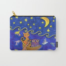 Owl and Pussycat rowed at night Carry-All Pouch