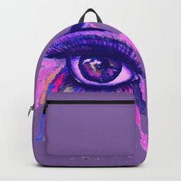 Rainbow anime eye Backpack